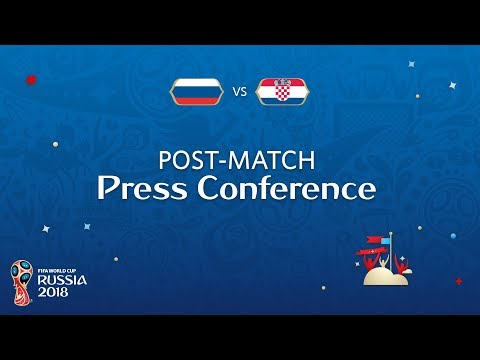 2018 FIFA World Cup Russia™ - RUS vs CRO - Post-Match Press Conference