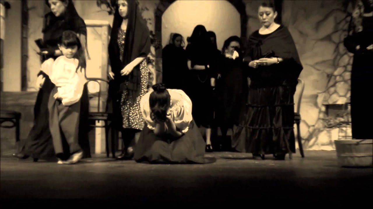 """house of bernarda alba elements of The play """"the house of bernarda alba"""" gives an interesting portrayal of a middle class home consisting entirely of women the plot is set in a small town, in a society dominated by men it is believed to be set somewhere in spain in the 1930s."""