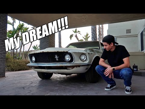 I BOUGHT MY DREAM PROJECT CAR! 1969 MUSTANG!!!