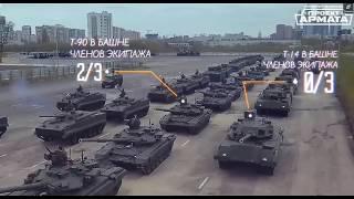 Танк Т-14 АРМАТА обзор сравнение