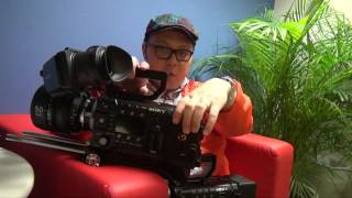 Sony F55 and F5 4K Camcorder Short Review