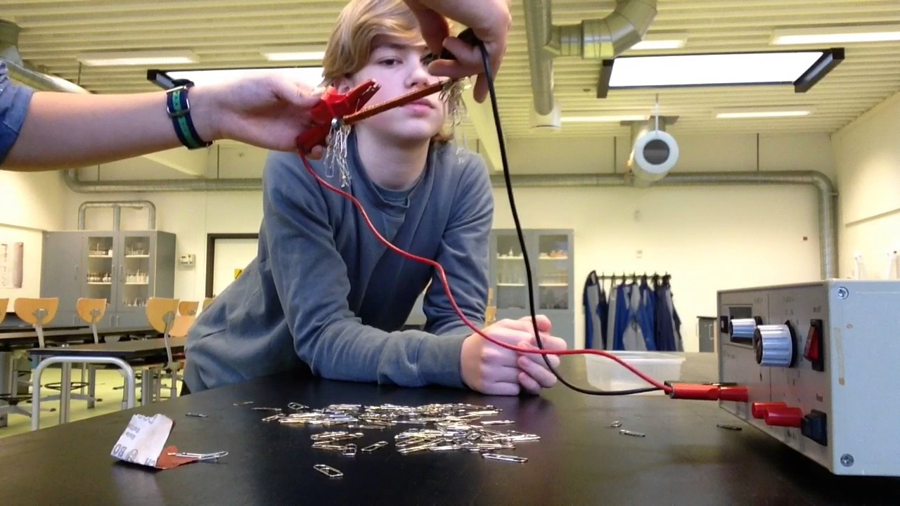 Sådan laver du en elektro magnet.