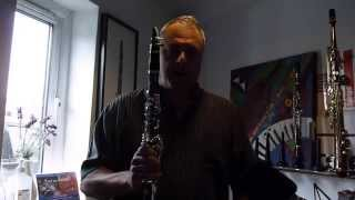 JP221 Bb Clarinet - Pete Long Demonstration