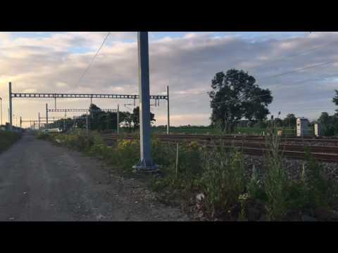 IEP test train run on Great Western Main Line