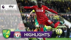 Joker Mané zum 17. Sieg in Serie! | Norwich City - FC Liverpool 0:1 | Highlights - Premier League
