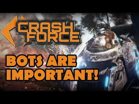 The Importance of Bots in Early Access Games - Crash Force vs. Squake