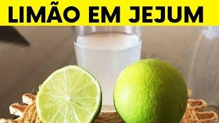 8 Benefícios do Limão em Jejum para Boa Forma e Saúde