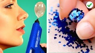 HOT GLUE CRAFTS  20 Ways to Use a Glue Gun  DIY Ideas &amp Lifehacks by Crafty Panda