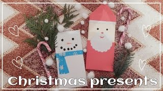 DIY: CHRISTMAS PRESENTS l подарки на новый год своими руками l ВМ(Всем привет с: Меня зовут Лера и в этом видео я вам дам пару идей для подарков на новый год своими руками...., 2015-12-20T20:56:01.000Z)