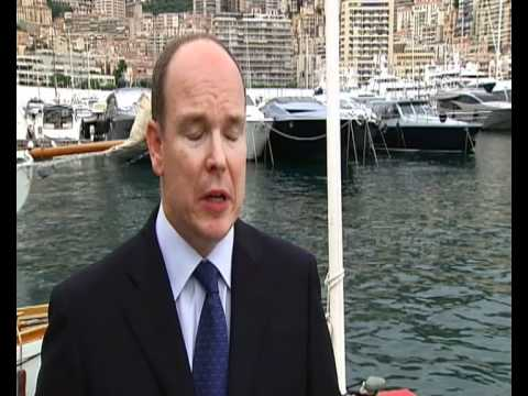Prince Albert of Monaco interview on fishing problems
