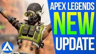 APEX UPDATE - Patch Notes, Season 1, Battle Pass, Octane, Hit boxes, Report Feature, Bug Fixes