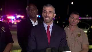 Autoridades dan detalles sobre la persecución que terminó en un tiroteo en el sur de Florida