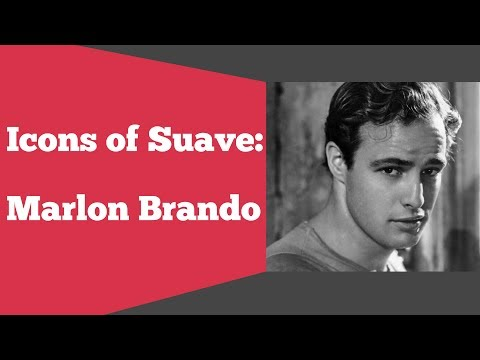 Icons of Suave: Marlon Brando