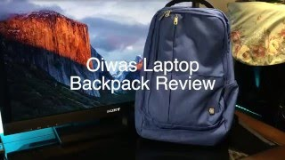 Oiwas Laptop Backpack Review