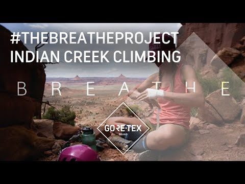 #thebreatheproject: Indian Creek Climbing with Aly Nicklas