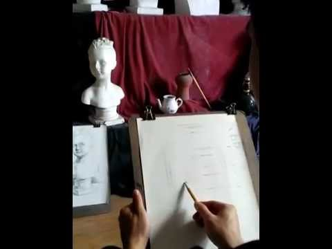 Lesson1: Hướng dẫn dựng tượng – Drawing tutorial – P2 [Viet-ART]