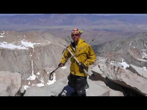 Blind hiker Trevor Thomas returns to the Rockies