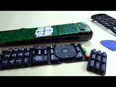 REPAIRING LG TV REMOTE CONTROL(CLEANING)