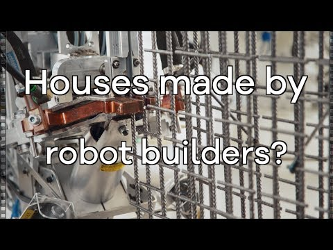 The house being built by robots and 3D printers - BBC Click