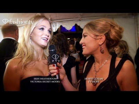 Erin Heatherton Interview at amfAR Gala 2012 Hosted by Hofit Golan | FashionTV