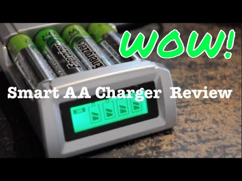 THE BEST !! Smart AA and AAA Battery Charger - Why you should get one!