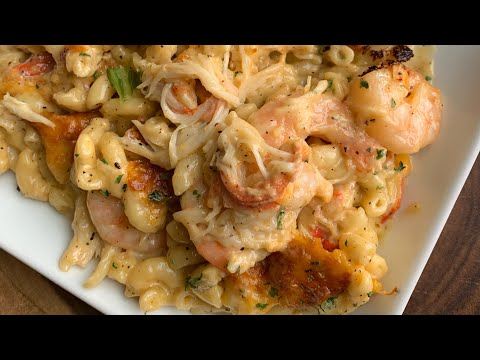 Seafood Mac & Cheese With Shrimp & Crab