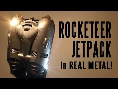 How to make the Rocketeer Jetpack in REAL METAL