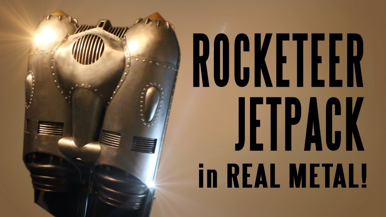 Check Out This Spot On Steel Replica The Rocketeers Jet Pack