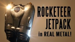 How to make the Rocketeer Jetpack in REAL METAL