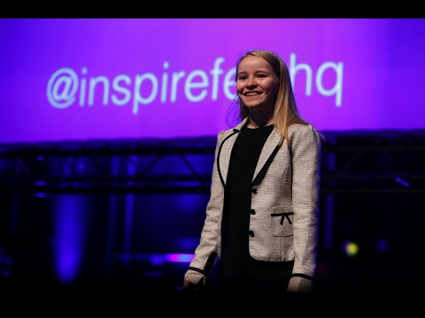 Lauren Boyle, 10-year-old coder, launches Cool STEAM Kids at Inspirefest
