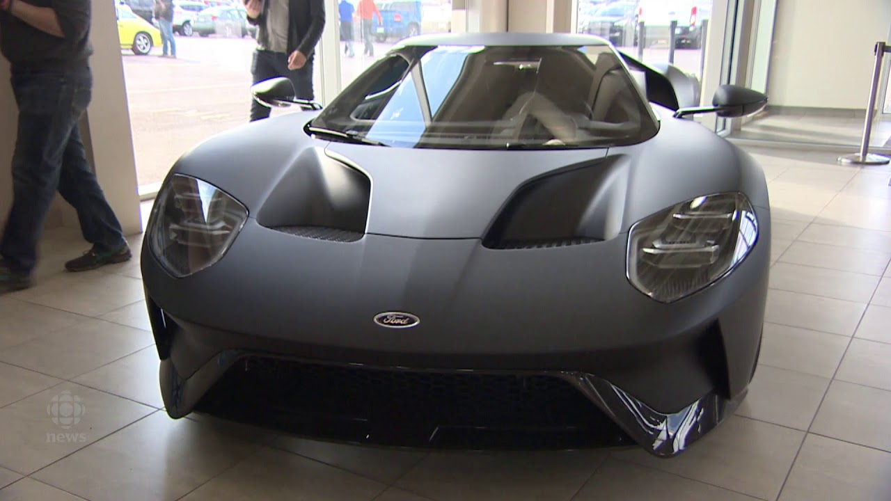 Check Out The New Ford Gt  In Canada Is Now On Display In Regina
