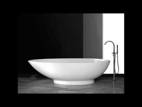 Die freistehende Badewanne im Ei-Design von Bädermax
