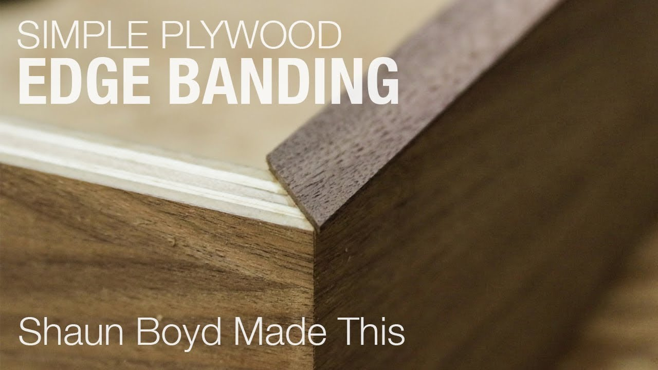 How to Make Simple Plywood Edge Banding
