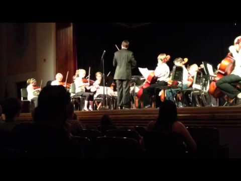 Bill Reed Middle School 6th grade orchestra concert