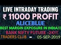 10X MARGIN FOR POSITIONAL TRADING, 40X MARGIN FOR INTRADAY TRADING