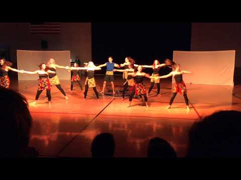 African Dance Number - Merit Academy Dance Company - 2017