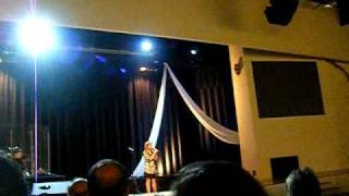 "Addie Williams singing ""Redeemer"" by Nicole C. Mullen"