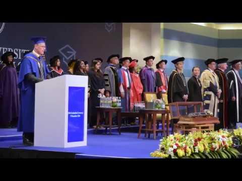 UOWD Autumn 2016 PG Graduation Ceremony - Full Video