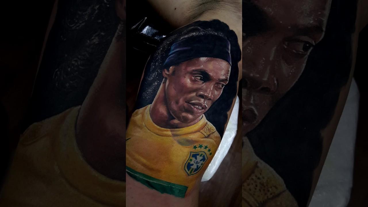 Ronaldinho Tattoo