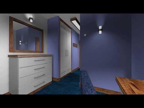 SLS Meble: projekt pokoju hotelowego