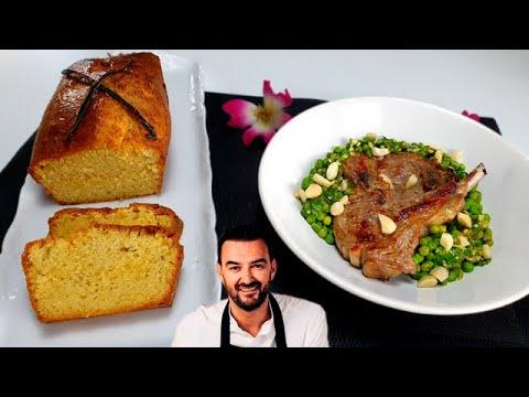 tous-en-cuisine-#53-:-le-cake-À-la-vanille-et-les-cÔtelettes-d'agneau-chimichurri-de-cyril-lignac-!