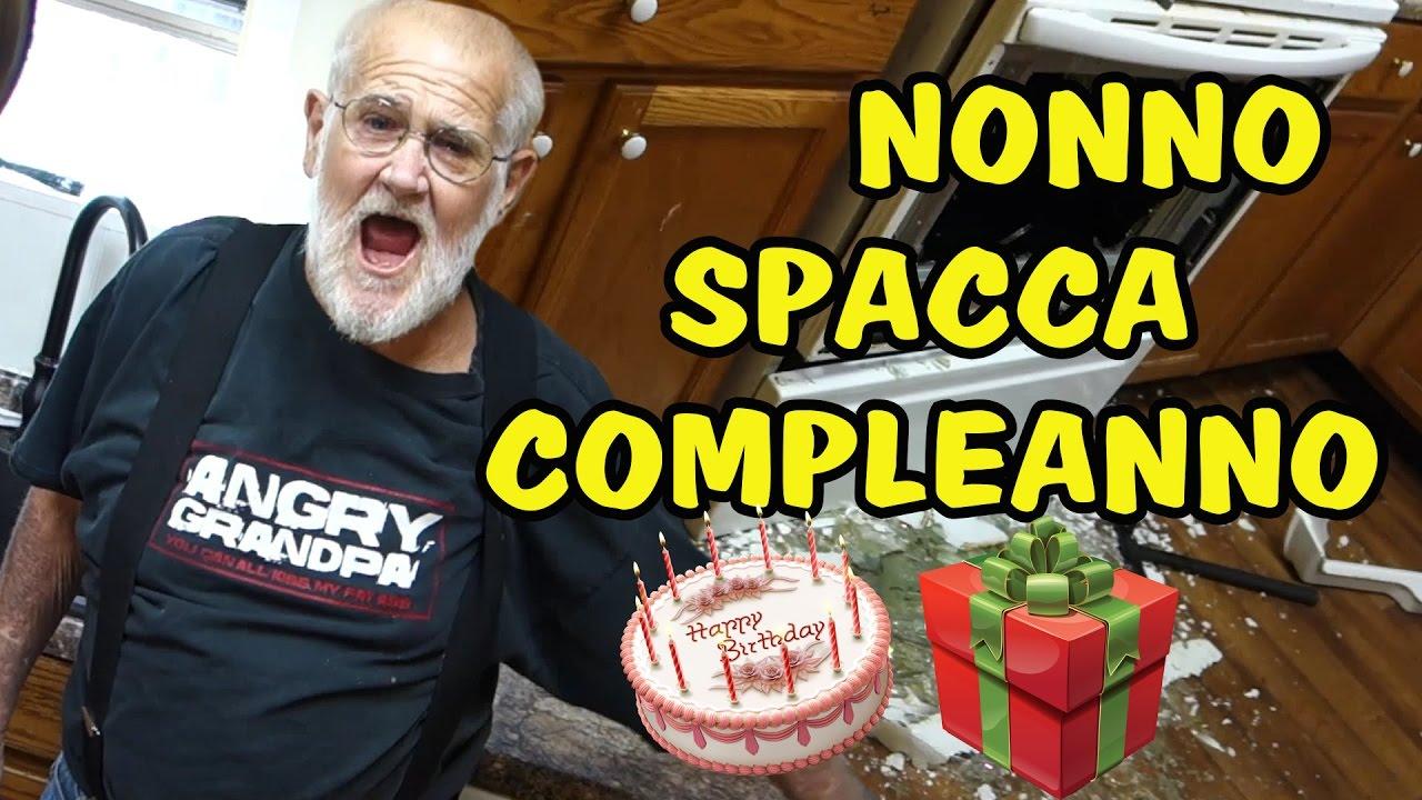 Nonno spacca compleanno youtube - Nonno spacca letto ...