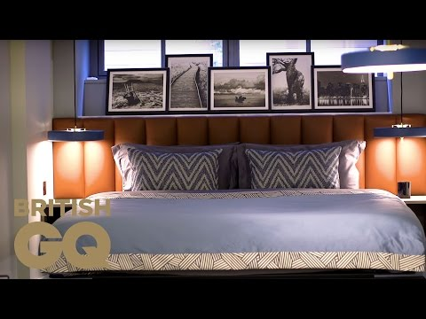 How to Style Your Bedroom with Daniel Hopwood | GQ Bachelor Pad | British GQ
