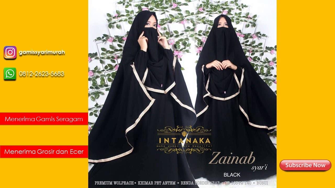 Supplier Gamis Syar I Online Shop Terbaru Wa 0812 2623 5683