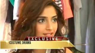 Sonam's 'Costume Drama' - Aisha Promotions