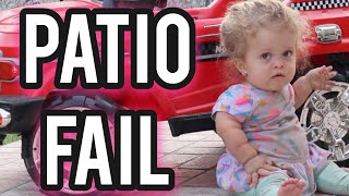 Patio Fail Sunday with Penny - Vlog 141