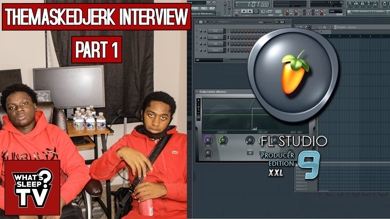 TheMaskedJerk & Kyree Thomas On Getting Their Start In Producing With A Cracked Version Of FL Studio