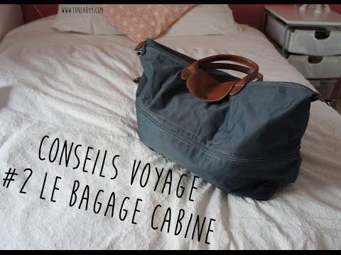 sac longchamp cabine avion easyjet