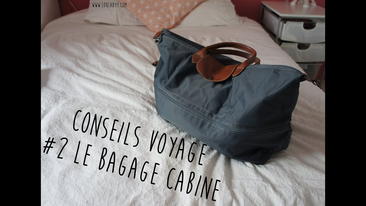 Sac Voyage Cabine Travel Series #2 Bagage Cabine - Youtube