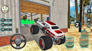 Car Wash Service and Gas Station #10 - Service Garage Simulator - Android Gameplay
